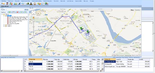 Phần mềm quản lý trường học trực tuyến